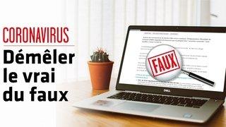 Coronavirus – Fake news: non, le gel désinfectant n'est pas cancérigène