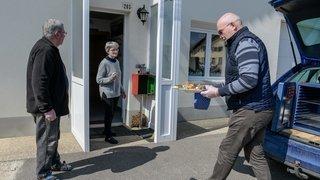 Canton de Neuchâtel: les repas livrés à domicile ou à emporter