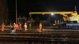 Gare de Neuchâtel: des nuisances dans la nuit de mardi à mercredi