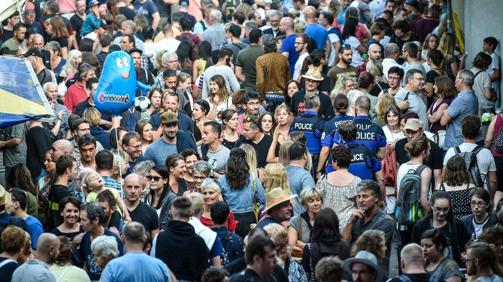 La foule, comme d'habitude, lors des Promos 2019.