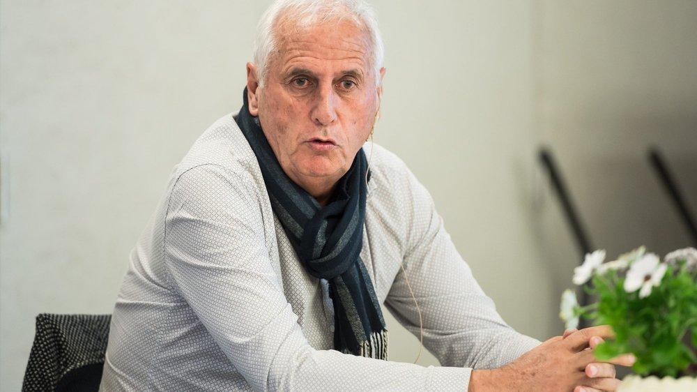 Bernard Challandes: sélectionneur du Kosovo.