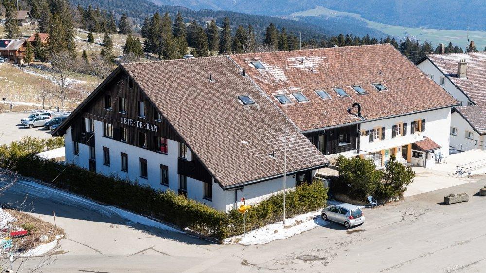 Une partie des requérants hébergés au centre d'accueil cantonal de Tête-de-Ran sera transférée à Couvet.