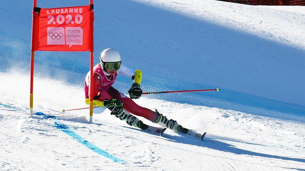 La skieuse du SC Romand Bienne a brillé.
