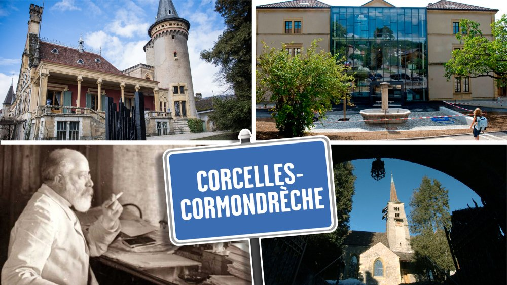Corcelles-Cormondrèche comme vous ne l'avez jamais vue