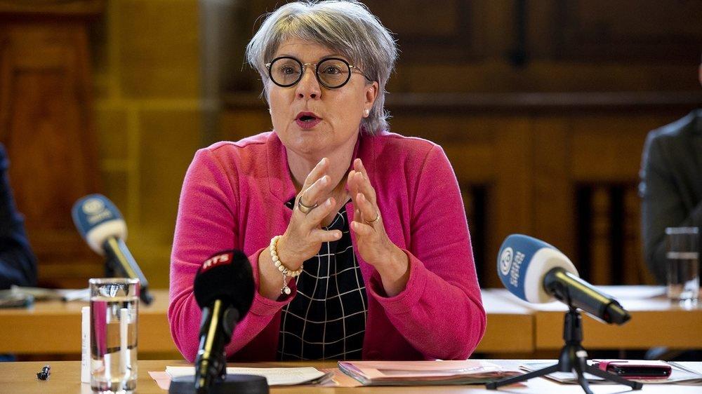 Le gouvernement neuchâtelois compte toujours légiférer à propos de l'école à la maison, rappelle Monika Maire-Hefti, ministre de l'éducation.