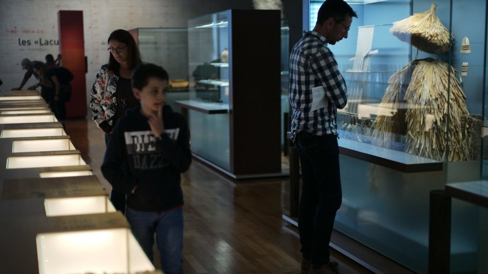 Samedi au Laténium, à Hauterive, les visiteurs étaient heureux de s'offrir un bain de culture après le confinement.