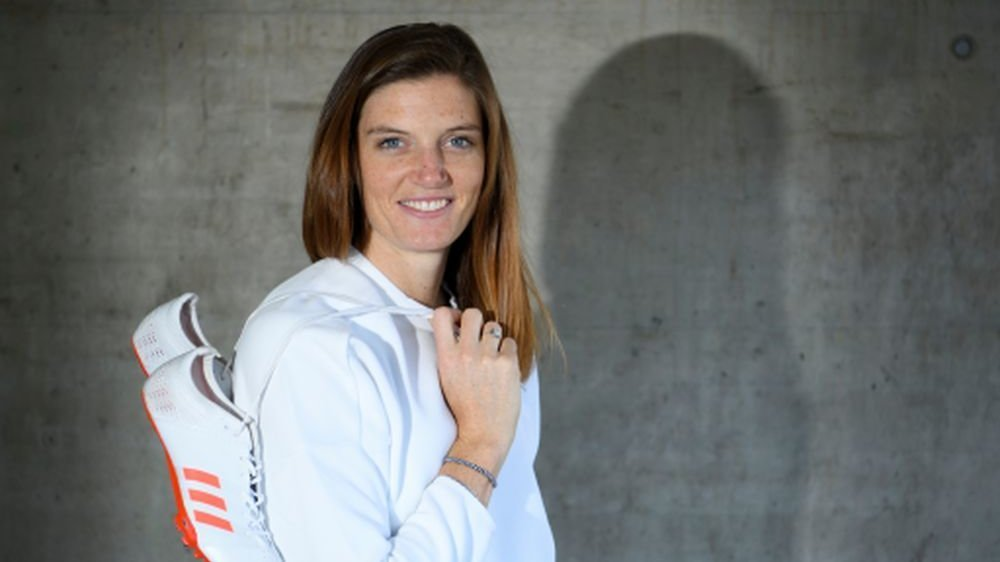 Lea Sprunger, championne d'athlétisme.