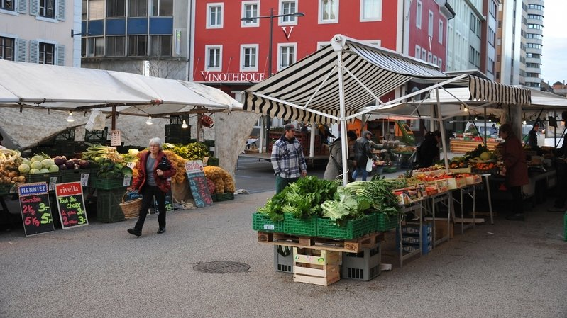 La Chaux-de-Fonds: neuf emplacements mis à disposition des marchands