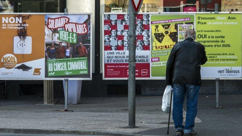 Les élections communales neuchâteloises auront lieu le 25 octobre