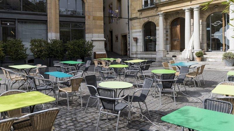 Neuchâtel: les bars et restaurants autorisés à étendre leur terrasse en ville