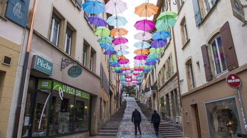 Neuchâtel: le Neubourg et les Chavannes se pareront à nouveau d'habits colorés cet été