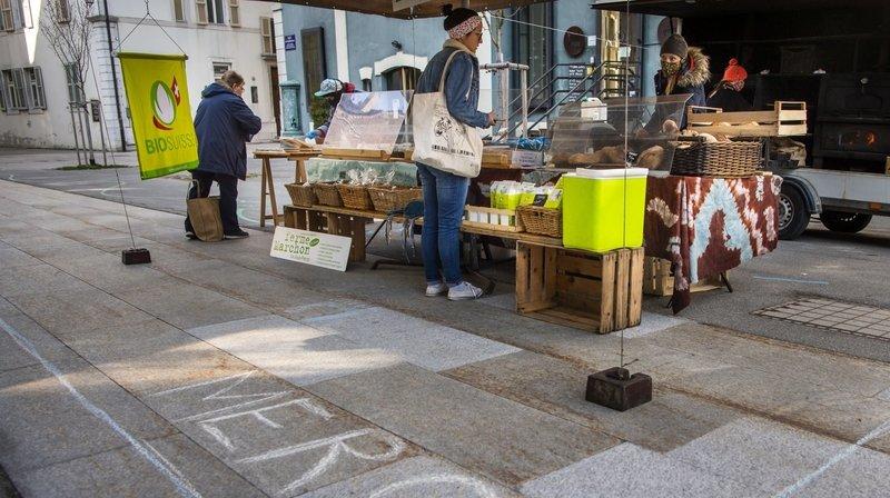 Les marchands sont de retour au centre-ville de La Chaux-de-Fonds