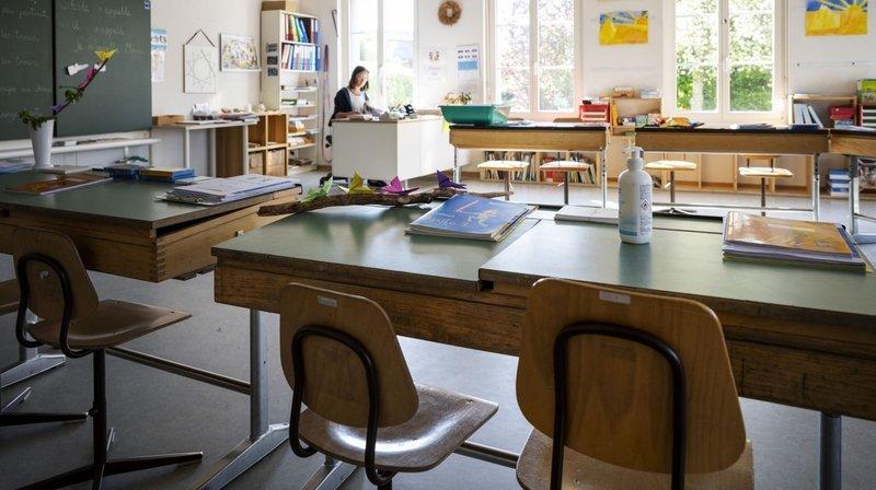 Retour à l'école le 11mai: les demi-classes, une phase d'adaptation intéressante pour les enseignants neuchâtelois
