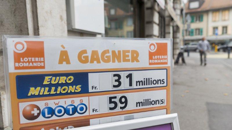 Loterie: pas de millionnaire au tirage du Swiss Loto