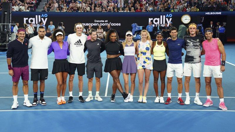 Tennis: Federer veut une union des associations masculines et féminines