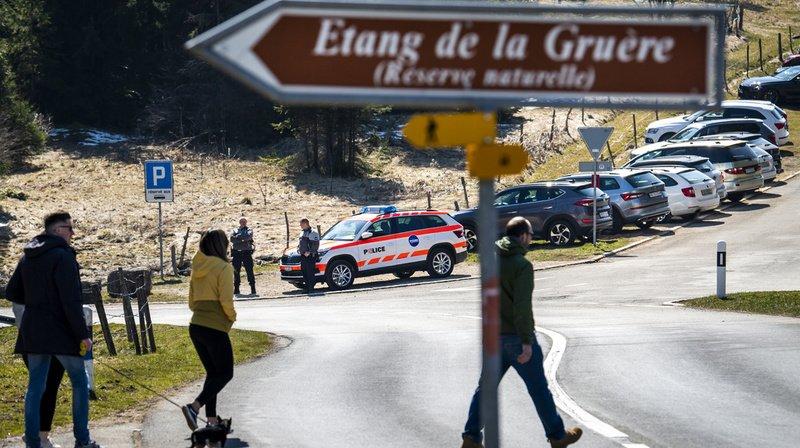 Coronavirus: 77 infractions relevées au Jura durant le week-end pascal
