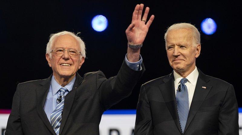 Présidentielle américaine: Bernie Sanders annonce son soutien à Joe Biden