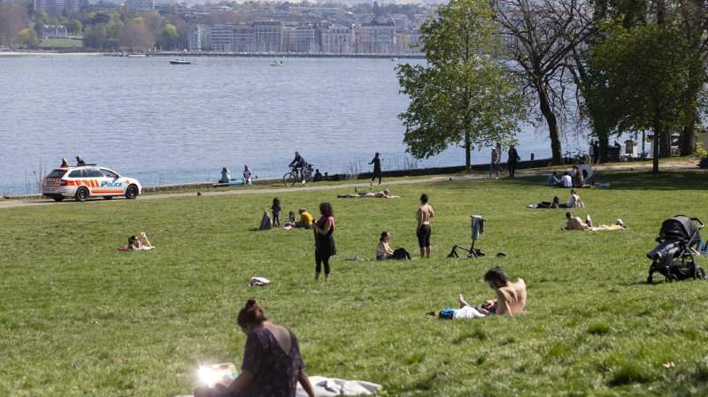 Météo: la Suisse au sec depuis bientôt un mois, risque de feux de forêt