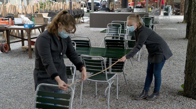 Coronavirus: les salles de classe et les restaurants de Suisse romande rouvrent leurs portes lundi