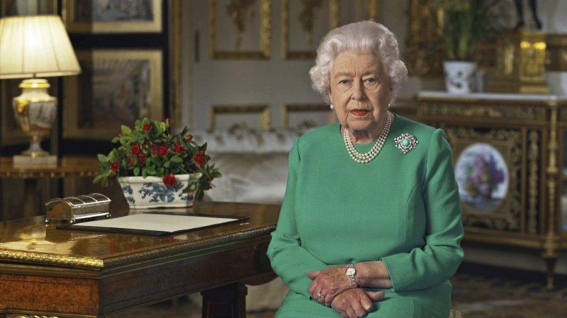La reine parle au monde