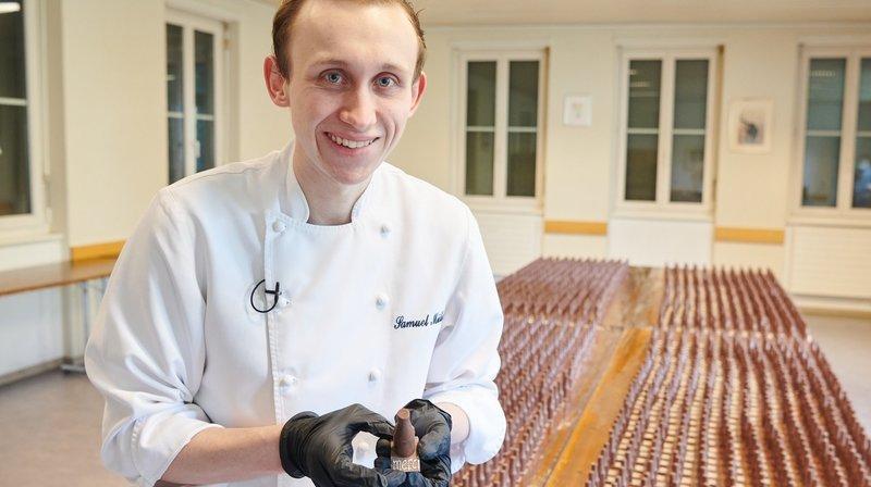 Chef pâtissier, il soutient en douceur les soignants du Réseau hospitalier neuchâtelois