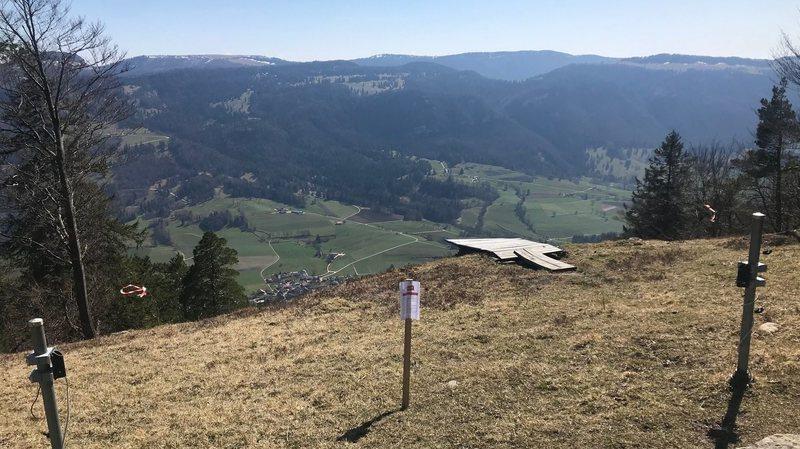 Sites de vol libre fermés dans le Jura et le Jura bernois pour éviter les accidents