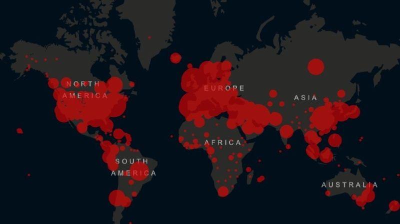Coronavirus: plus de 63'000 morts dans le monde