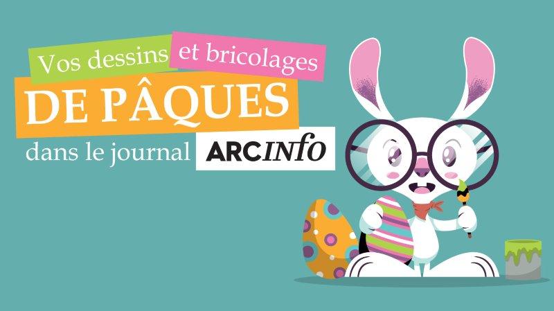 Vos dessins et bricolages de Pâques sur ArcInfo
