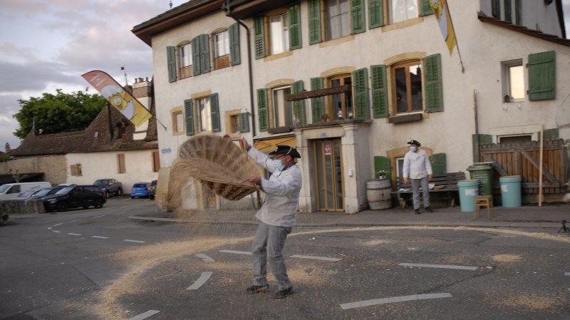 La course aux œufs célébrée à Cressier malgré le coronavirus