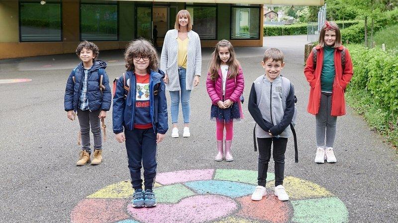 Les petits Neuchâtelois ont repris le chemin de l'école
