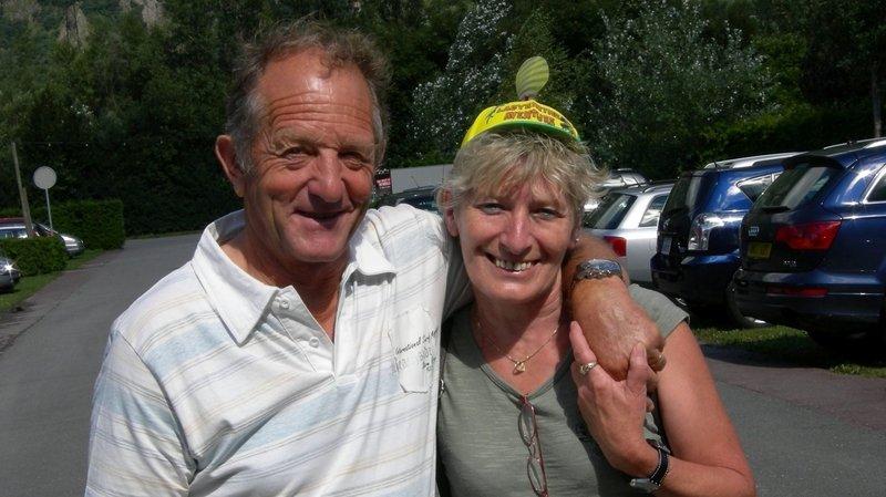 Marlyse et Etienne Challandes ont fêté leurs 50 ans de mariage.