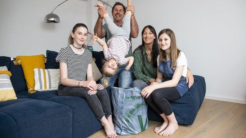 Val-de-Ruz: le coronavirus n'a pas arrêté la famille zéro déchet