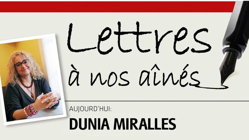 Ecrivaine chaux-de-fonnière, Dunia Miralles écrit à sa famille