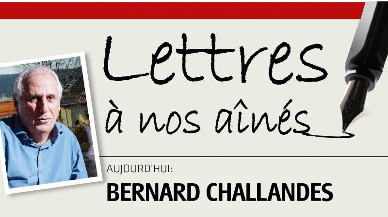 L'entraîneur de foot neuchâtelois Bernard Challandes écrit à nos aînés