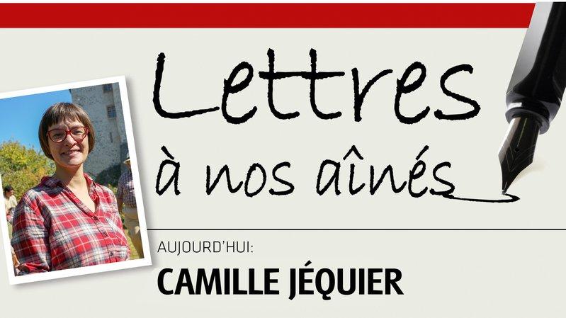 Camille Jéquier écrit à nos aînés