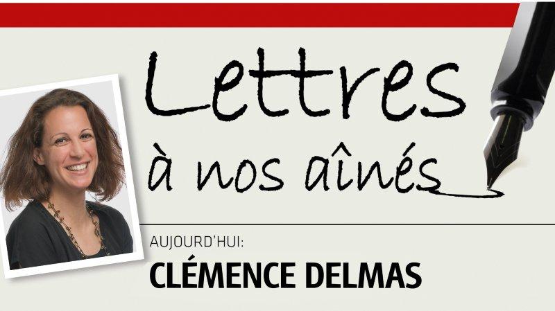 Clémence Delmas écrit à nos aînés