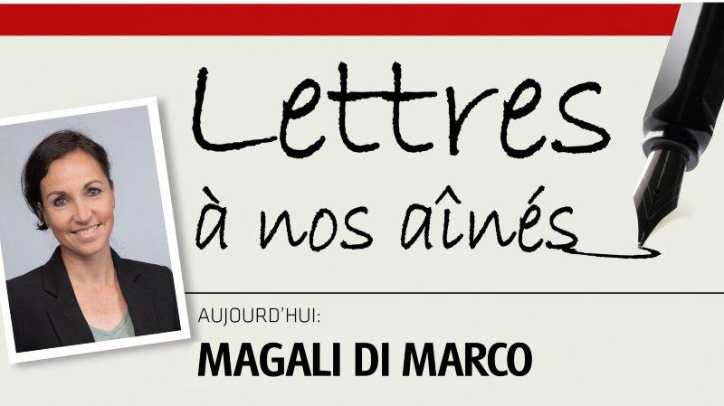 L'ex-triathlète Magali Di Marco écrit à nos aînés