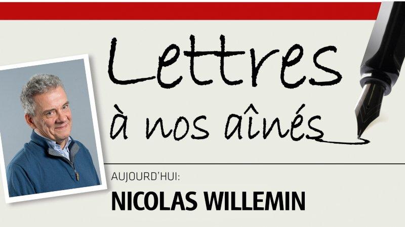Le journaliste Nicolas Willemin écrit à nos aînés