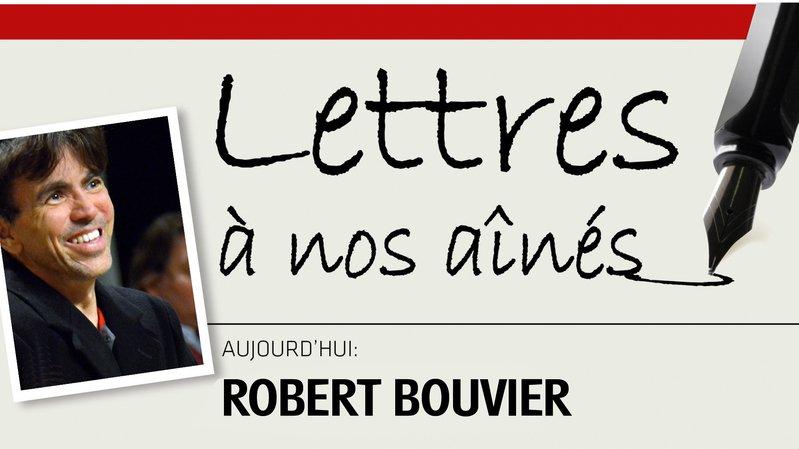 Robert Bouvier écrit à nos aînés