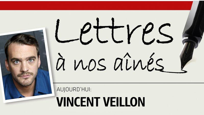 L'animateur et humoriste Vincent Veillon écrit à nos aînés