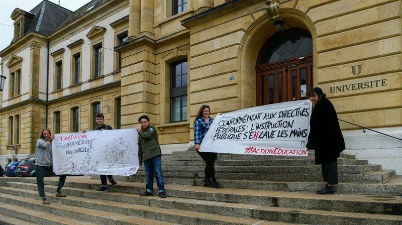 Examens: ils et elles disent non à la solution du rectorat