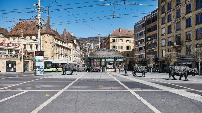 Les restaurants du centre-ville de Neuchâtel peu fréquentés pour leur réouverture