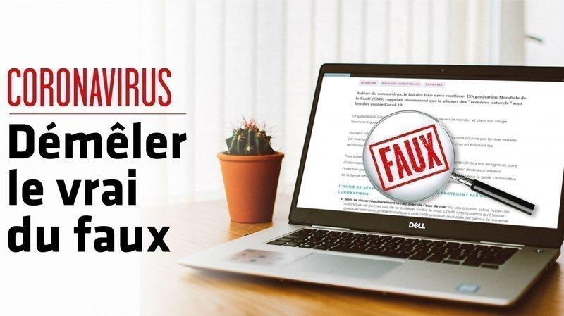Coronavirus – Fake news: non, la Suisse n'a pas enregistré que 5 cas positifs en 24 heures