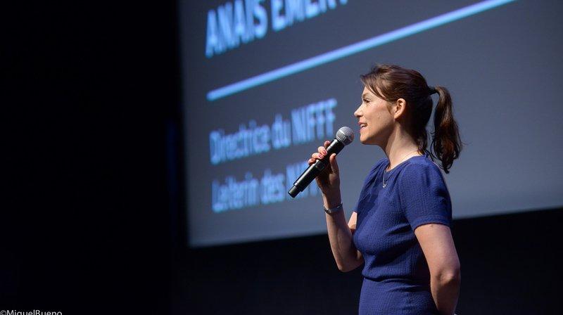 Anaïs Emery: «Je me sens très en paix et fière du travail effectué au Nifff»