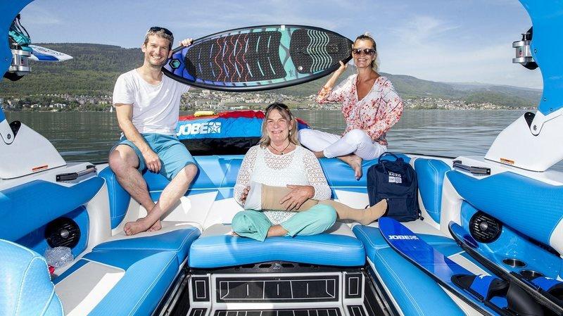 Neuchâtel: les personnes handicapées goûtent aux joies du lac avec What A Day