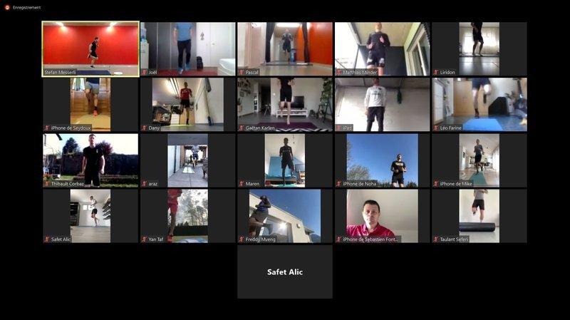 Xamax se retrouve en mode virtuel pour varier les plaisirs
