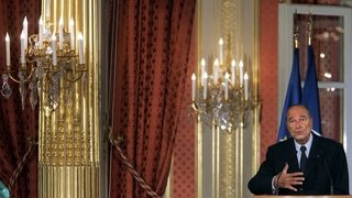 En 1995, Jacques Chirac était élu président de la République française