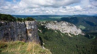 Canton de Neuchâtel: accès au Creux-du-Van à nouveau possible dès lundi