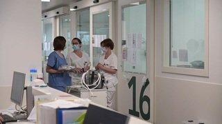 Coronavirus: reportage au cœur de l'hôpital de Rennaz
