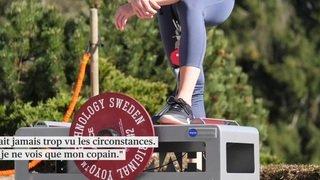 Ski cross: la Vaudoise Fanny Smith se maintient en forme chez elle